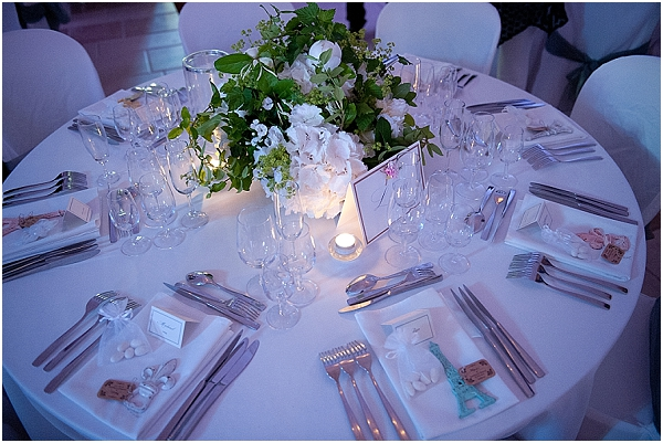 classic wedding table