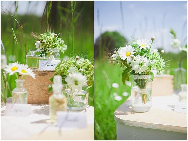 daisy wedding decorations