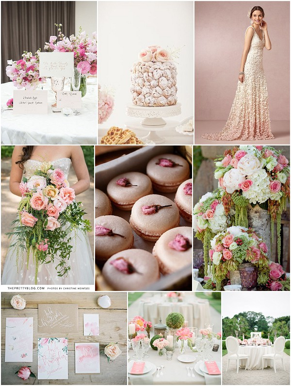 exquisite romance wedding ideas