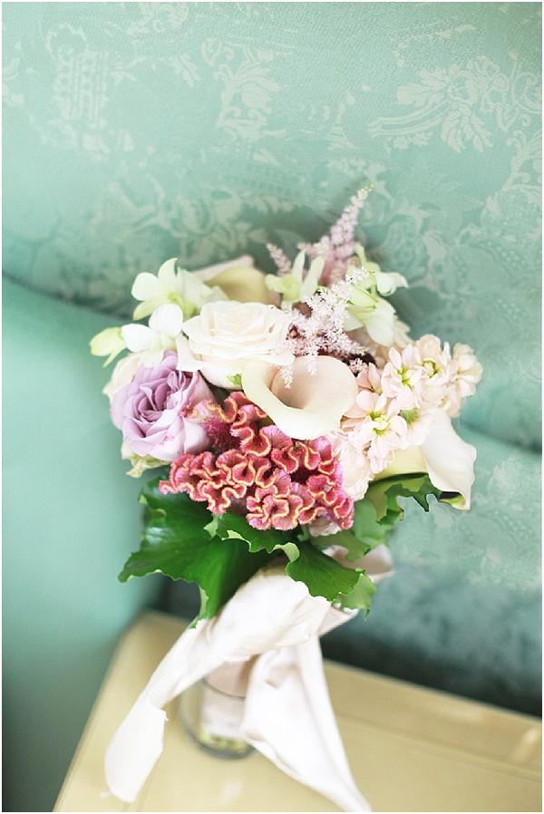 italian bridal bouquet