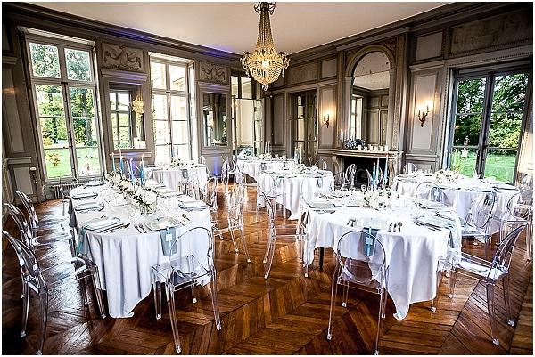 louis clear wedding chairs