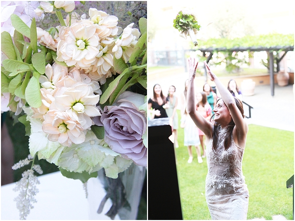 pastel bridal bouquet