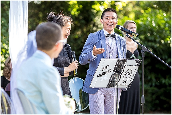 personalised wedding service