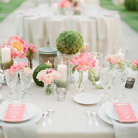 Pink And Green Wedding | Midway Media