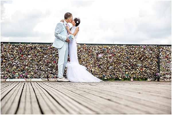 wedding pont des arts
