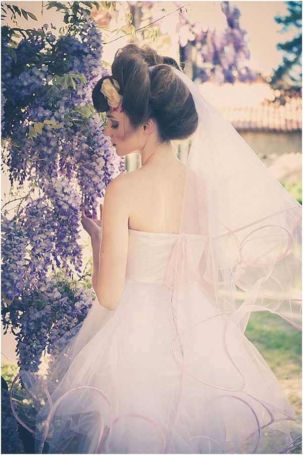 whimsical short wedding dress