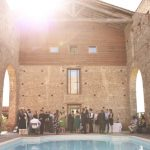 Domaine du Beyssac Wedding Party by Outdoor Pool