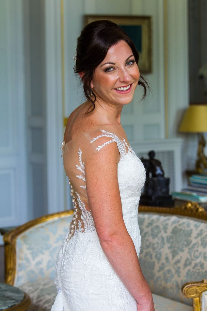 Carey Hawkins Makeup Wedding Hairstyling in the Loire Valley