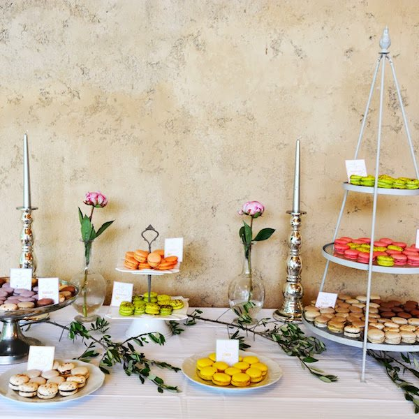Elian Concept Weddings French Weddings Sweet Table Macarons