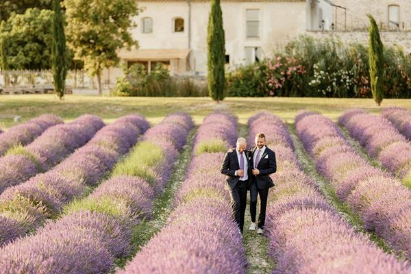 Lyloo and Maloe Wedding Planner in the Lavender Fields of Provence