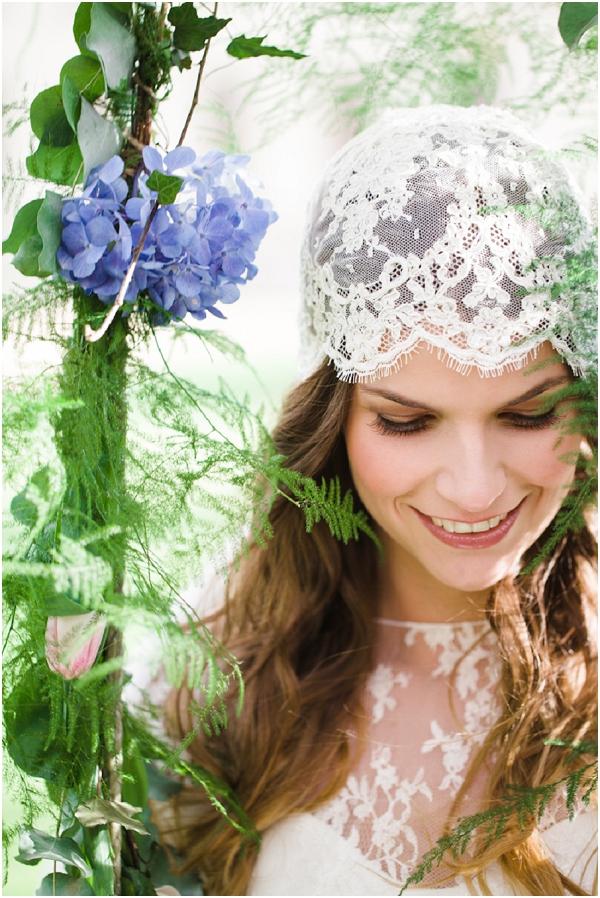 bohemian bride makeup