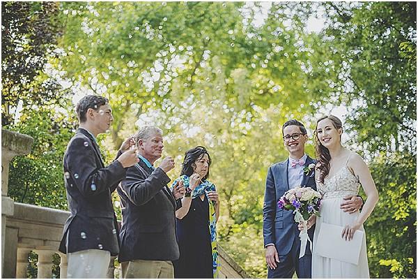 bubbles at wedding
