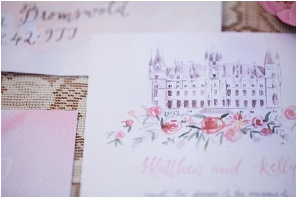 chateau invite
