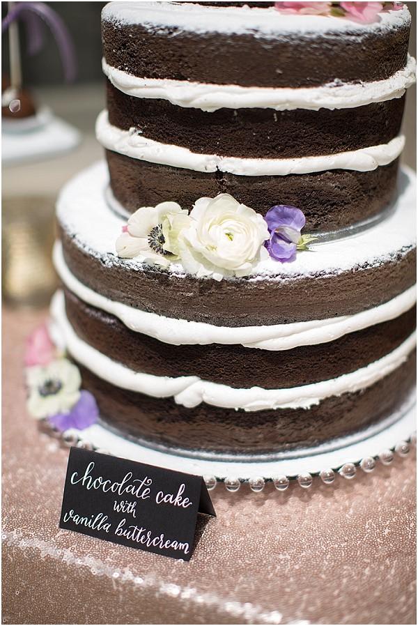 chocolate cake vanilla