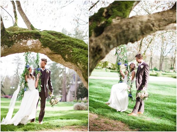 creating bridal swing