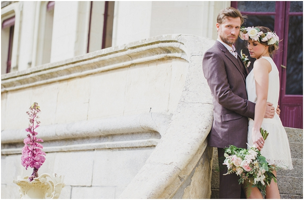 French Bohemian wedding style