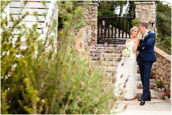 gardens in Monaco wedding