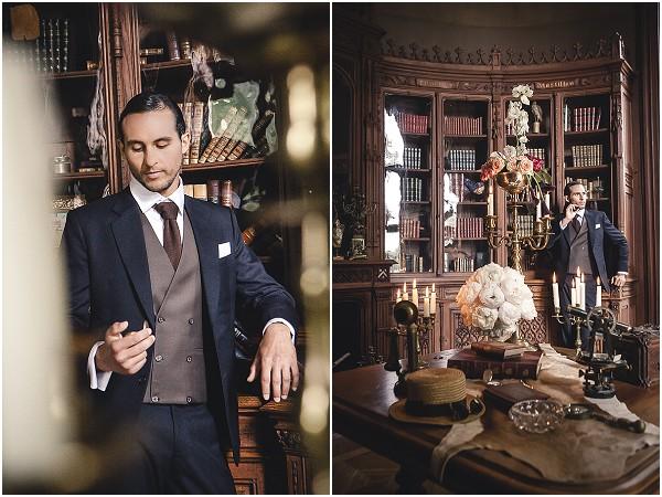 gatsby inspired groom