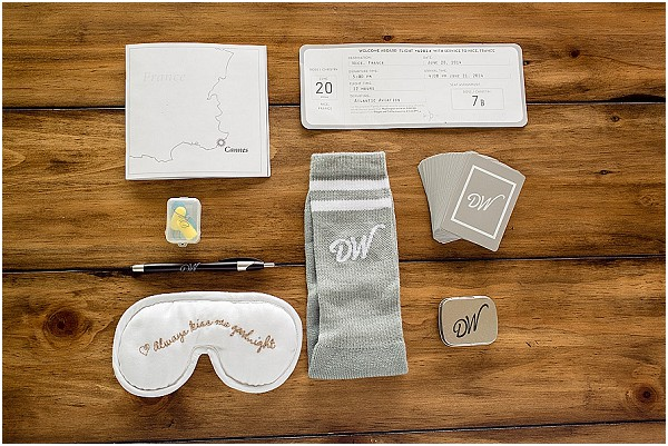 guest welcome bag