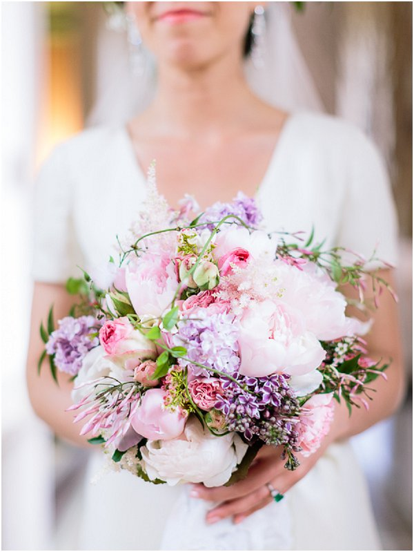 lilac pink bouquet