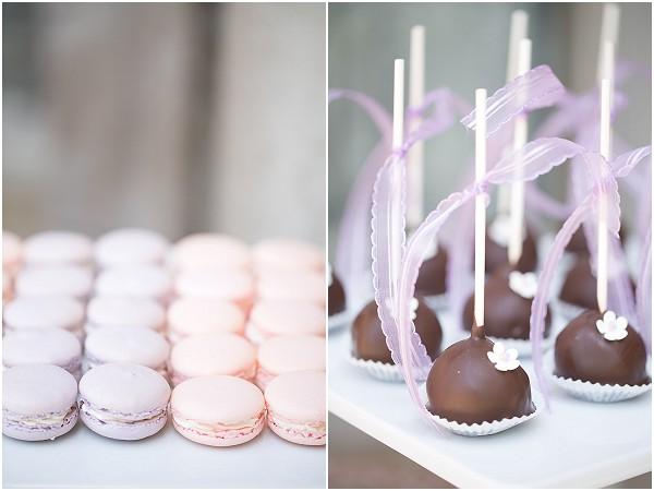 macarons cakepops