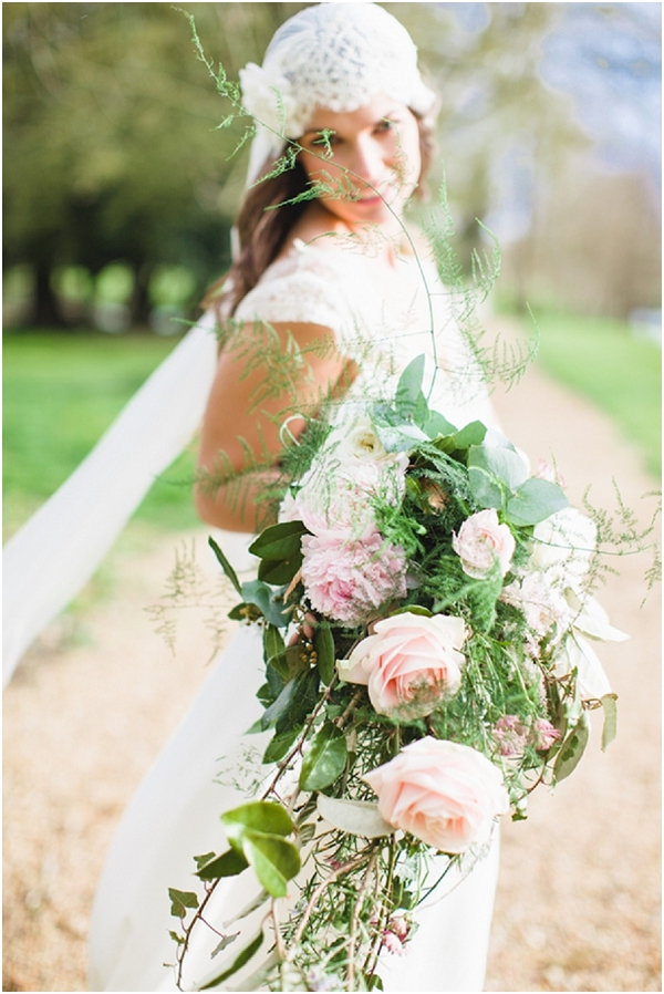 oversize wedding bouquet