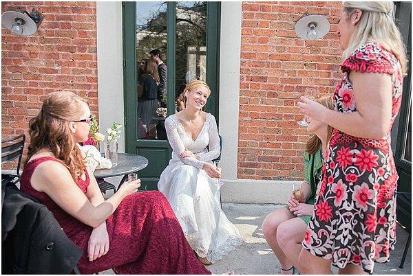 paris wedding guests