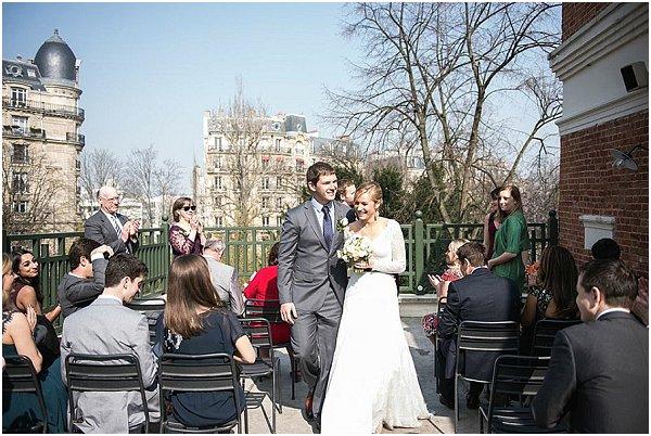 parisian rooftop wedding