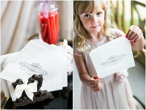personalised wedding sweet bags