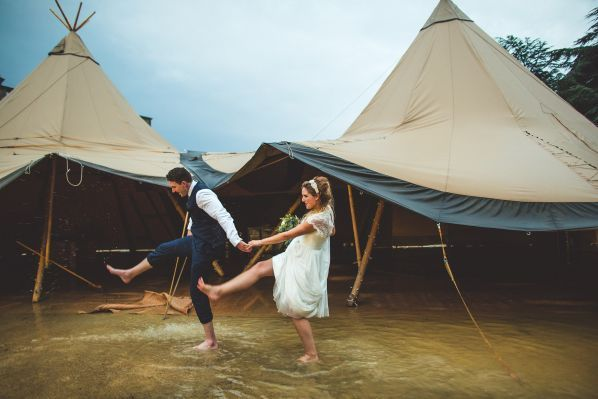 stormy wedding