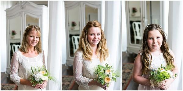 vintage bridesmaid flowergirls