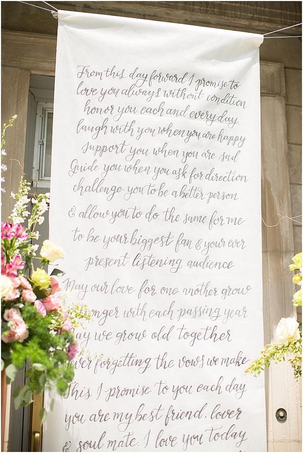 wedding calligraphy backdrop
