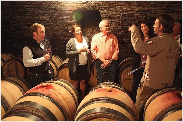 wine cellar tour france