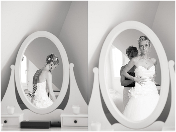 bride in normandy