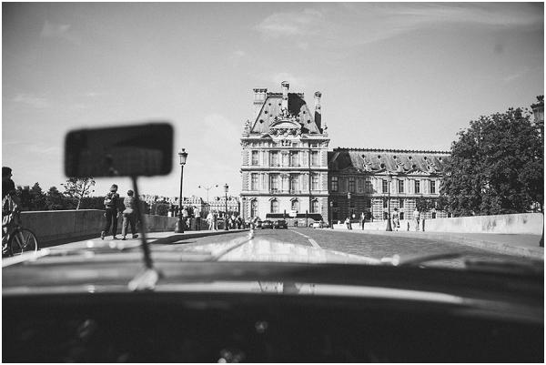 car  tour paris