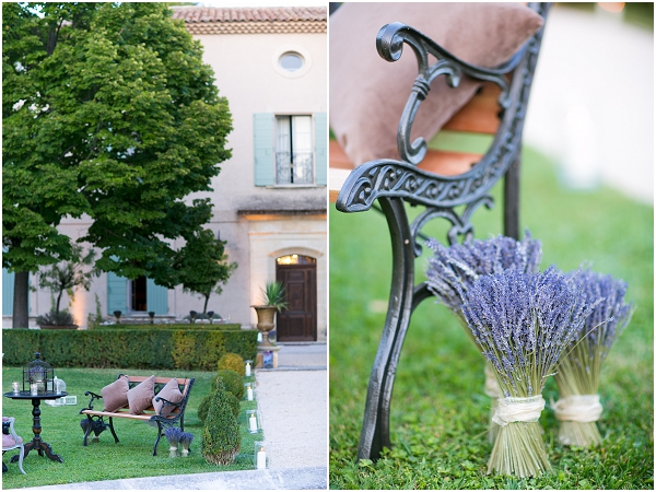 dried lavender wedding