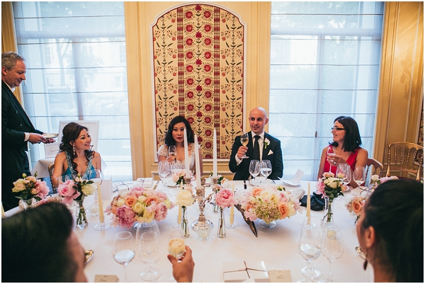 elegant wedding paris france
