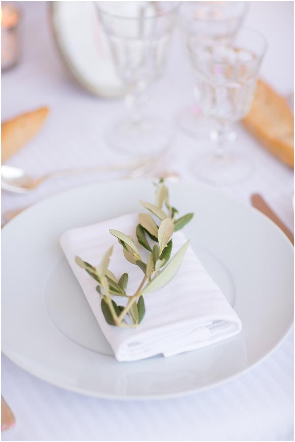 olive wedding decorations