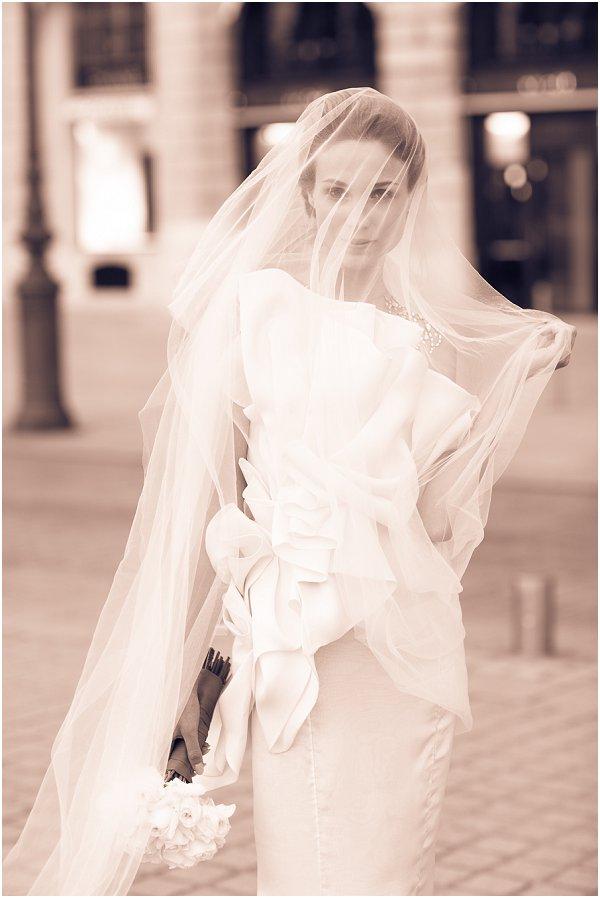 oversize wedding veil