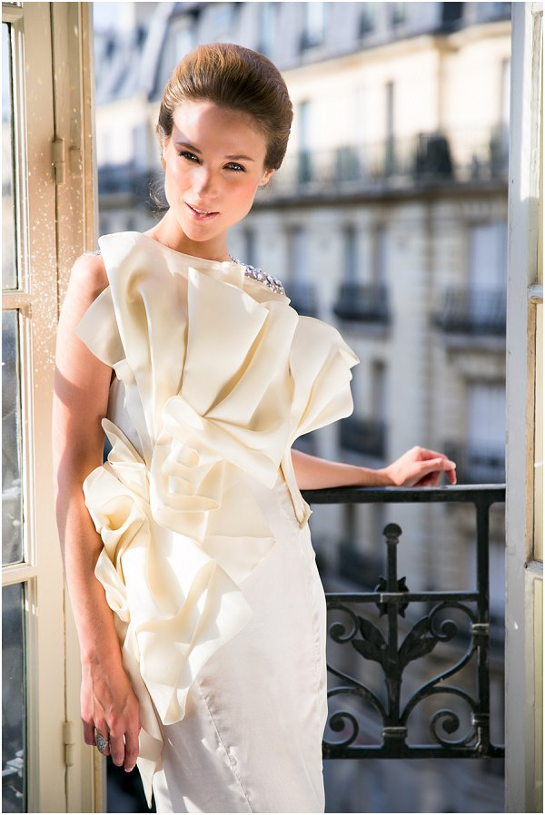 paris couture wedding dress