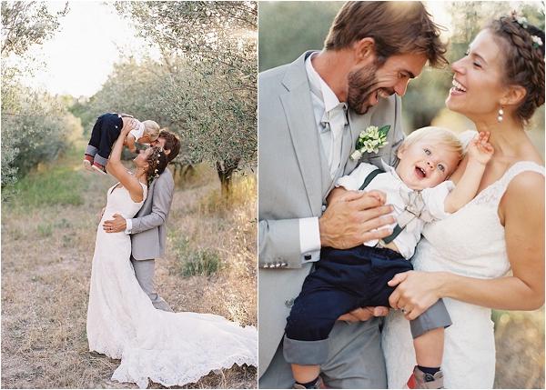 small children at wedding