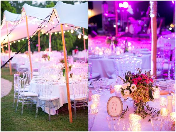 wedding reception canopy
