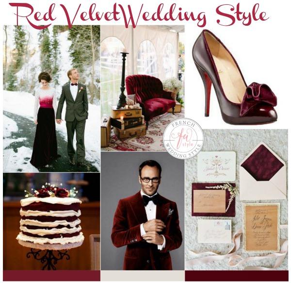 Red Velvet wedding style