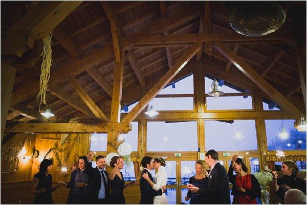 alps style wedding