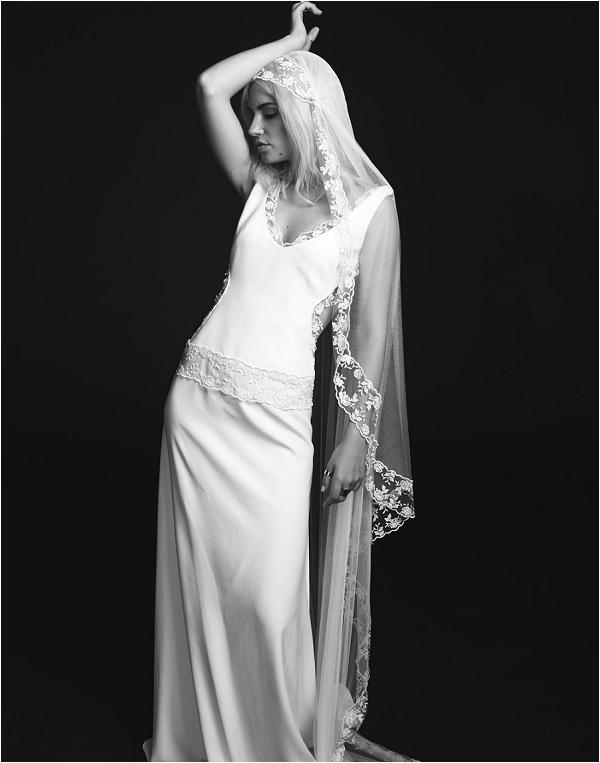 boho rock wedding dress by Rime Arodaky