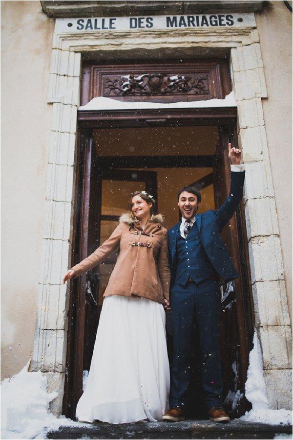 bridal coat winter wedding