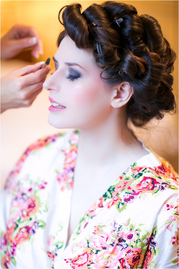 bridal preparation robe