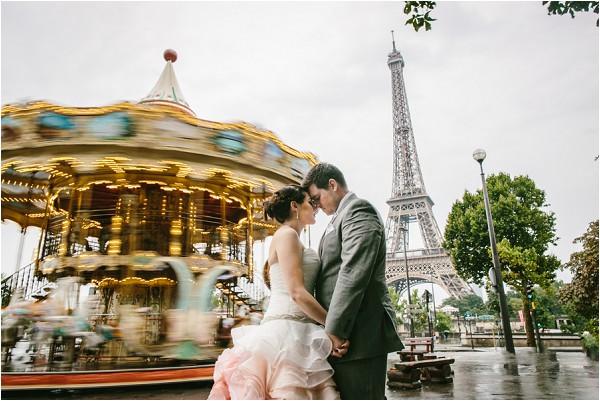 carousel wedding paris