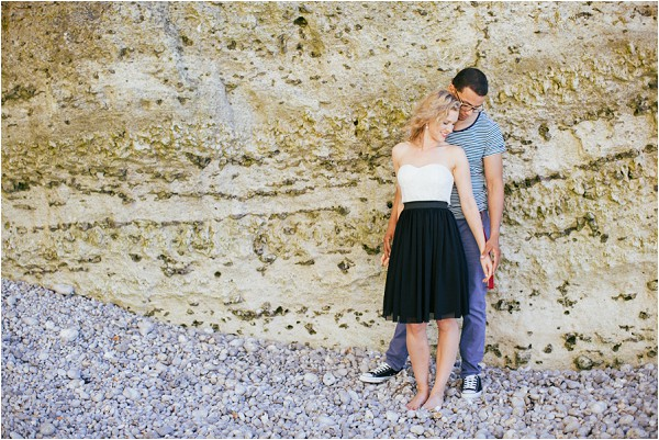engagment shoot in Normandy