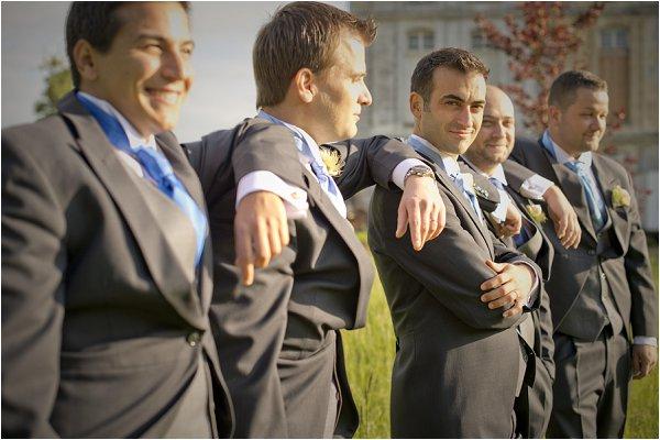 grey grooms suits